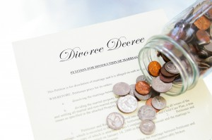 Division of Property In Divorce